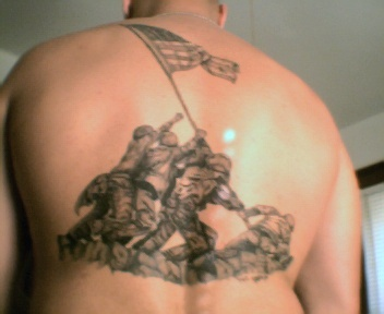 Raising the flag on iwo jima alex galmeanu 39 s blog for Iwo jima tattoo