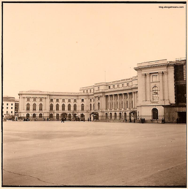 Palatul Regal in vreme de razboi.