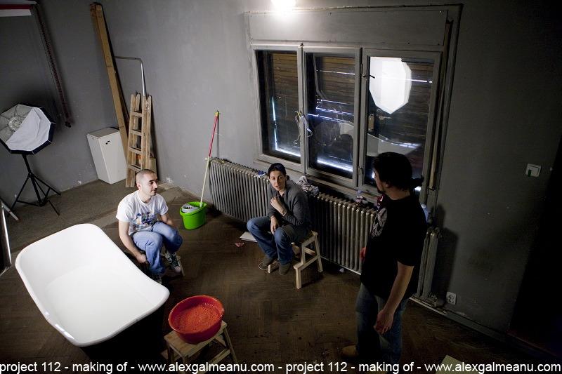 Alex Galmeanu, Mihaela Berciu si Ionel Popa in studio, in asteptarea lui Tudor Chirila