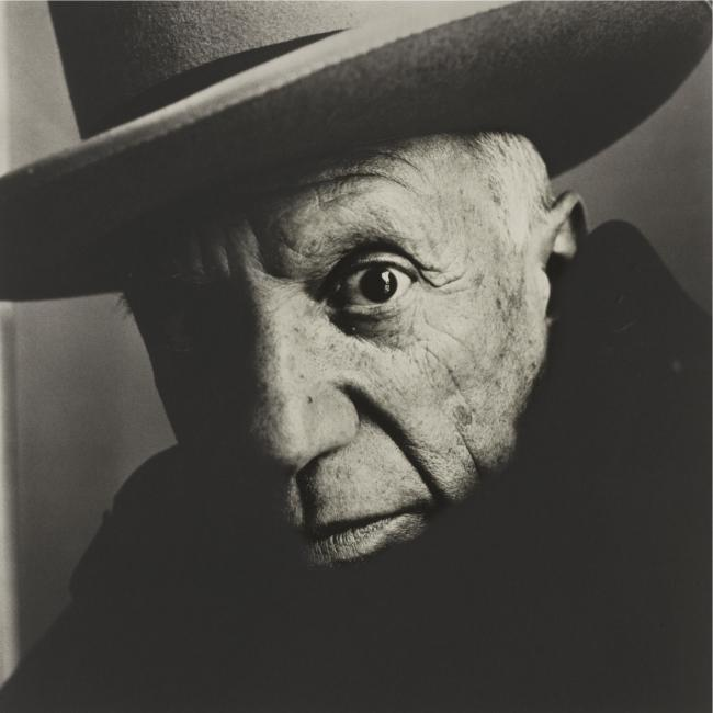 IRVING PENN - B. 1917 - 'PICASSO (B), CANNES' - 62,500 USD - © Sotheby's