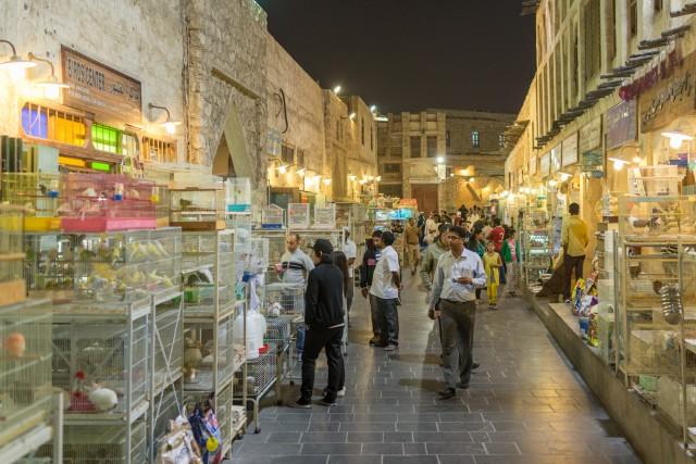 Souq Waqif, Doha, ian. 2015