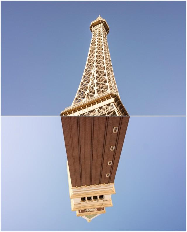 Nu e nici Paris si nici Venetia, dar Las Vegas are un pic din amandoua.