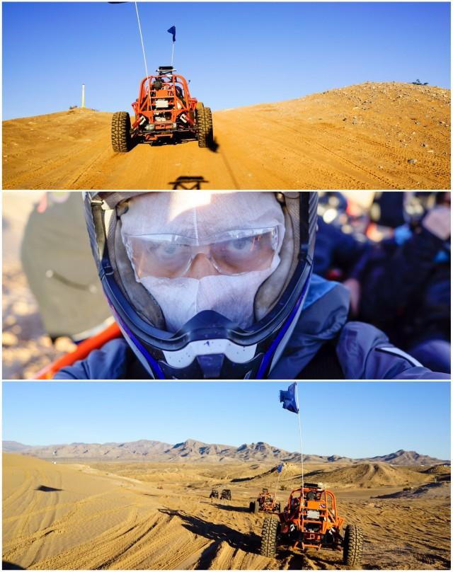 Selfie in a dune buggy