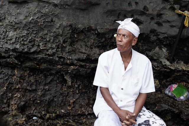 Undercover portrait, Bali