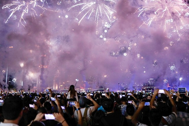 Noaptea de Revelion, Singapore