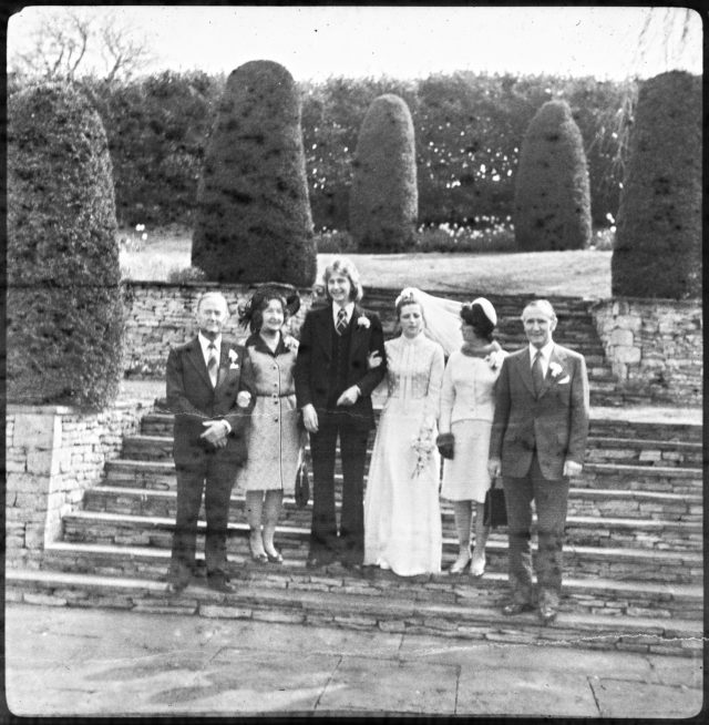 The lost film - Probably a Scottish wedding from 1973